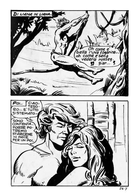 Tarzan porno fumetto