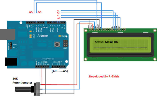 Arduino and LCD connection