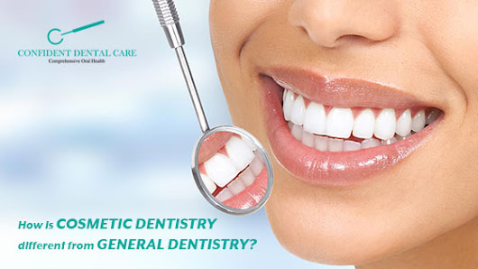 How is cosmetic dentistry different from general Dentistry?