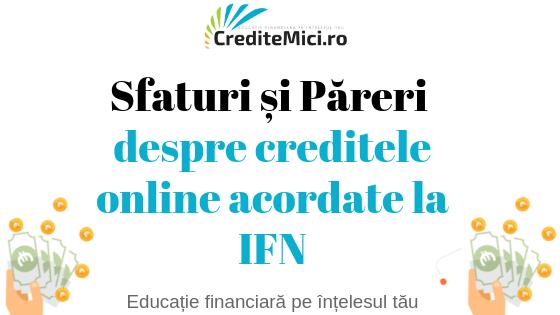 credit online ifn