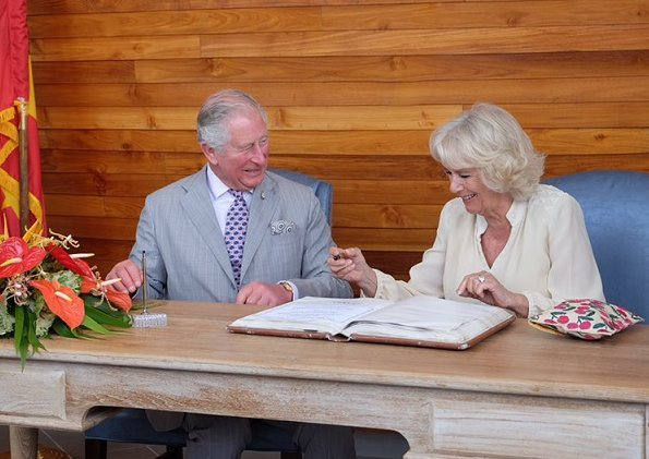 The Prince and The Duchess visited the House of Chocolate