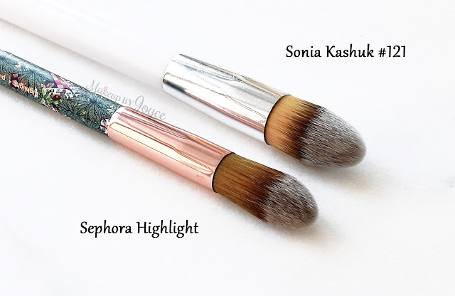 Sephora Mara Hoffman Sonia Kashuk Pointed Foundation Brush Dupe