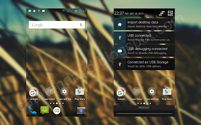 Tutorial Cara Membuat Statusbar Transparan dan Pulldown Background Transparan (Expanded)