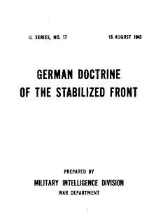 German Doctrine of the Stabilized Front
