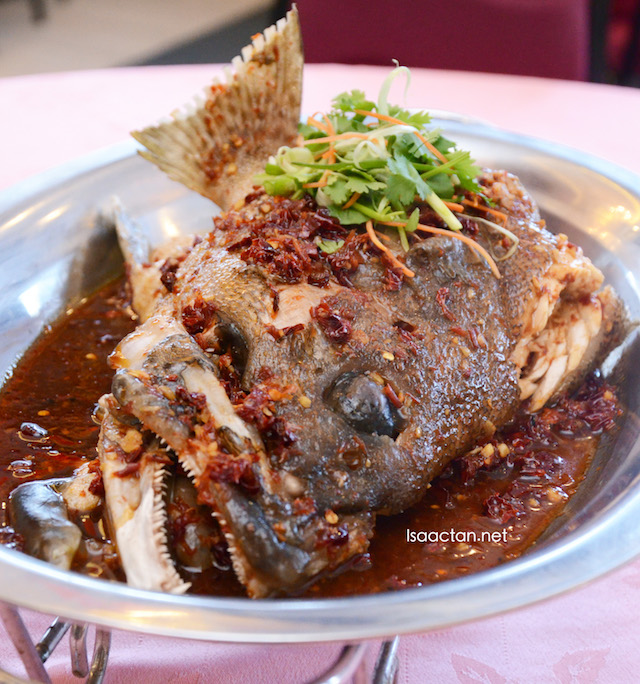 Grouper Fish Head (RM6 per 100g)