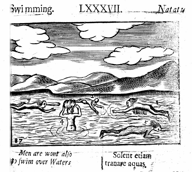 1600s school book swimming