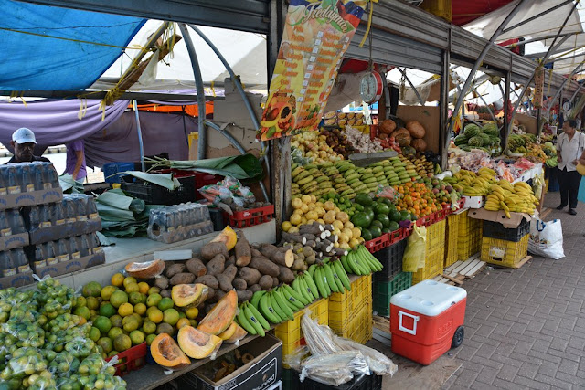 Willemstad Curacao fresh market