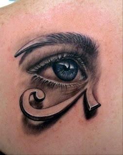tato mata biru
