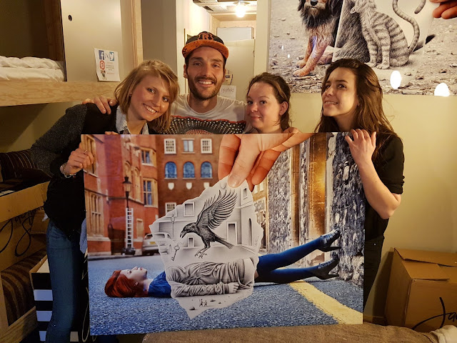 Colorfield Gallery - Pop Up The Jam - Ben Heine Art Exhibition - Colorfield Gallery - Bruxelles - Jam Hotel 2017