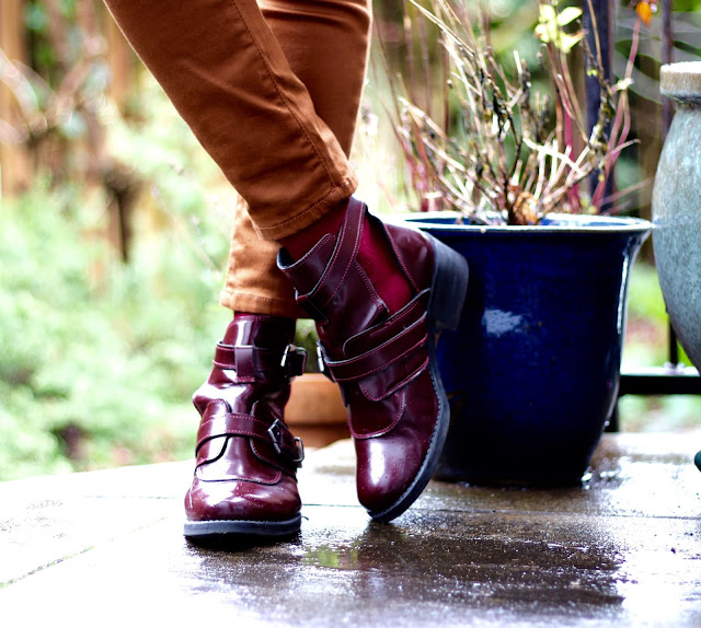 Fake Fabulous | Oxblood boots & Skinnies.
