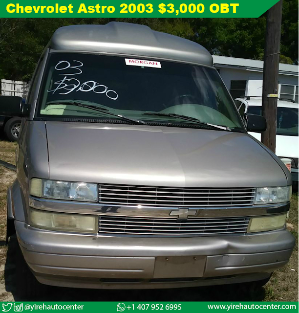 Chevrolet Astro 2003 Executive OBT - Yireh Auto Center