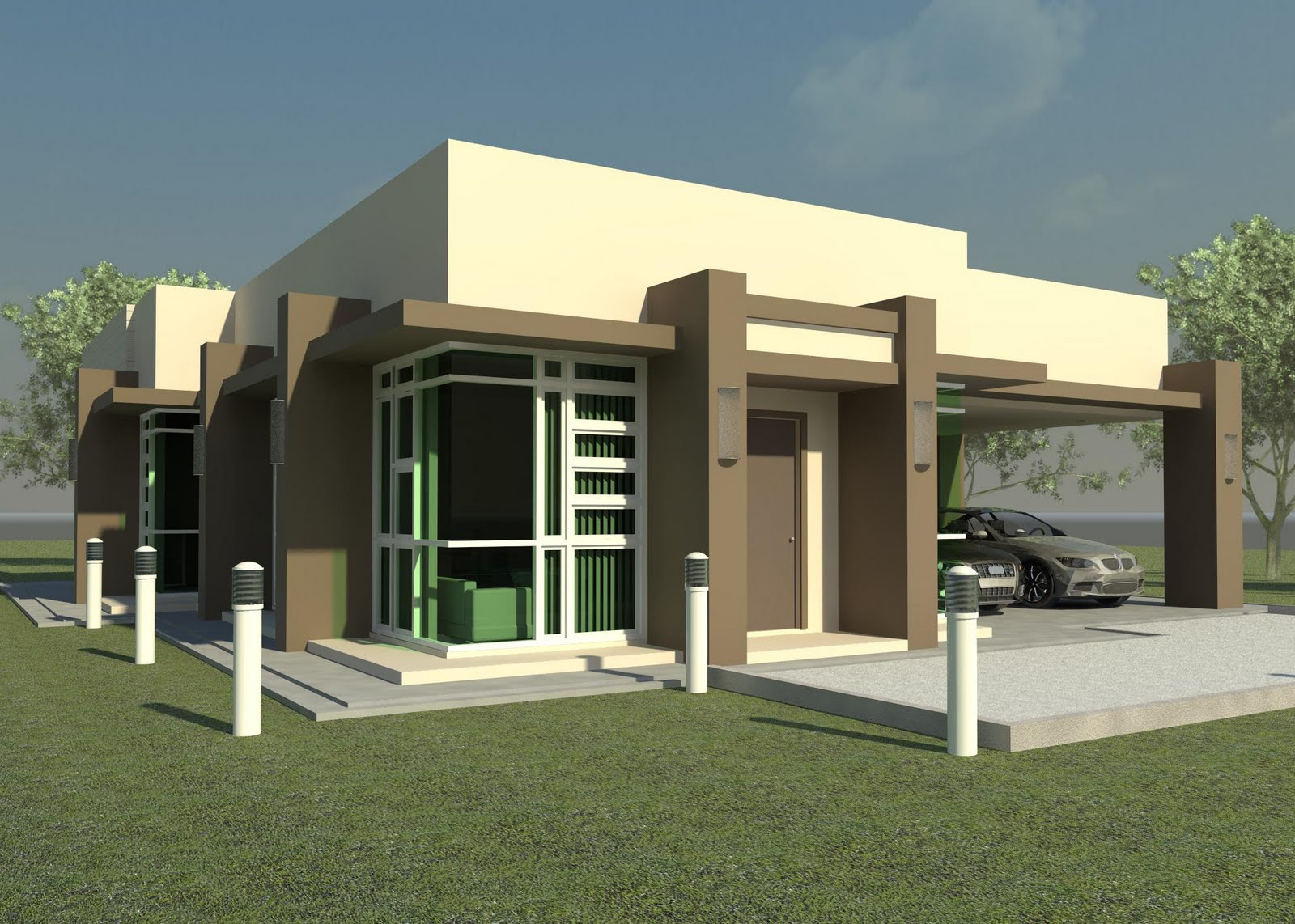 Type Of House Modern House Plans
