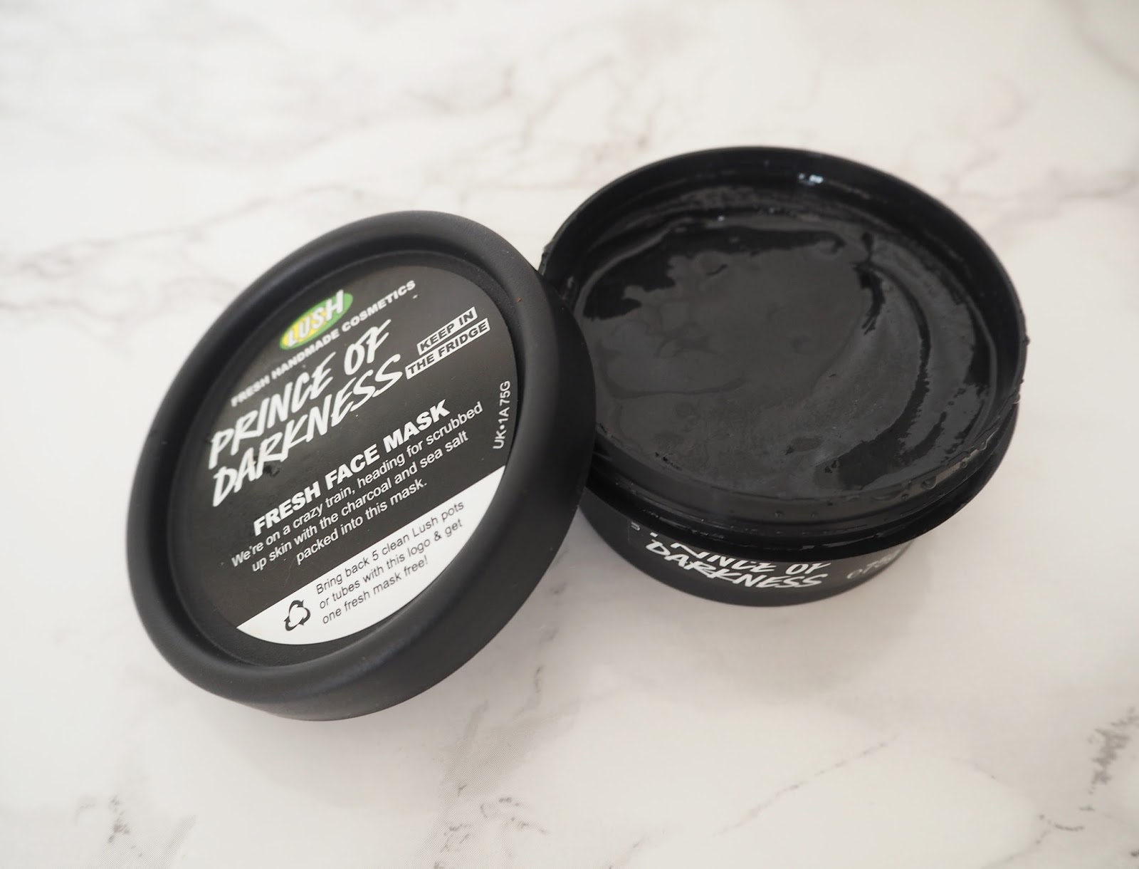 Loves List: June Lush Prince of Darkness Face Mask | Katie Kirk Loves