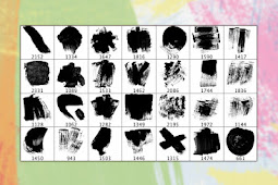 28 Adet HD Kalitede Brush Paketi [.abr]