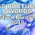 [ESCPORTUGAL Awards] Conheça todos os vencedores da edição do Festival Eurovisão 2018
