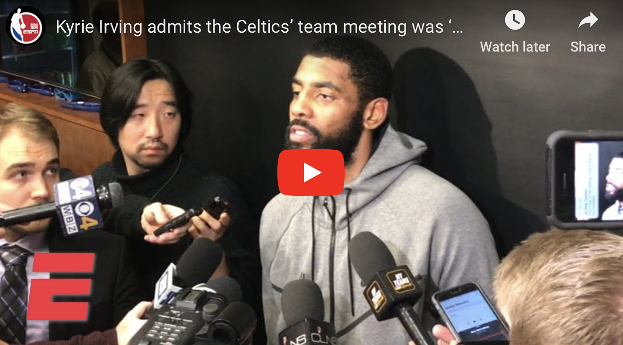 Video: Kyrie Irving discusses