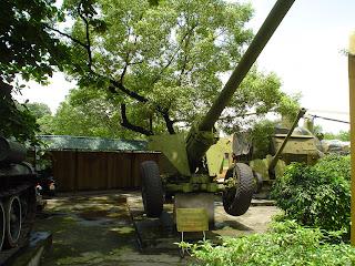 Guerra de Vietnam, batería anti-aerea