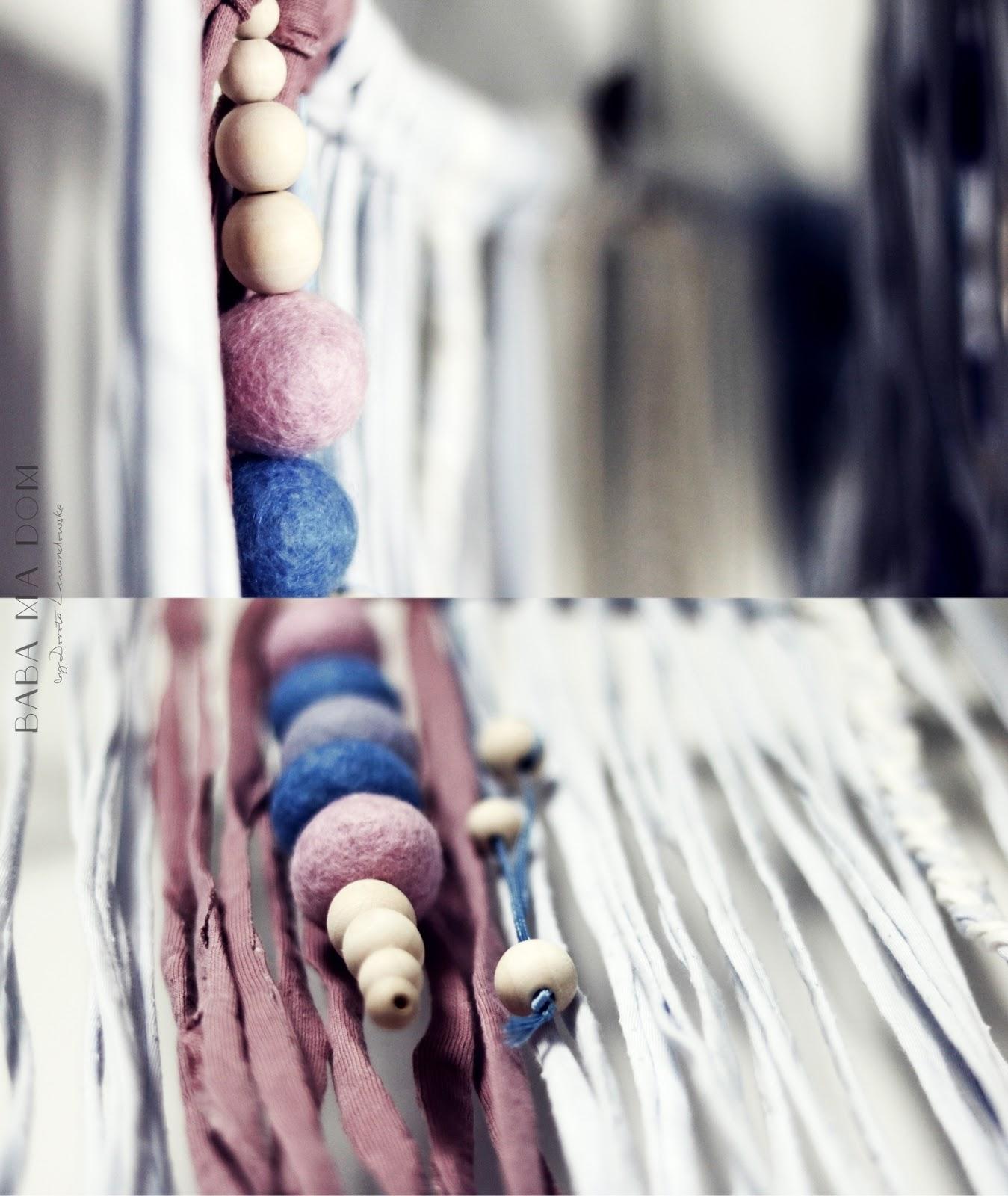 DIY, doityourself, dzieci, featured, filc, kulki, ozdoba, recykling, sznurek, warsztaty, zrób to sam,
