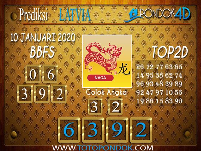 Prediksi Togel LATVIA POOLS PONDOK4D 10 JANUARI 2020