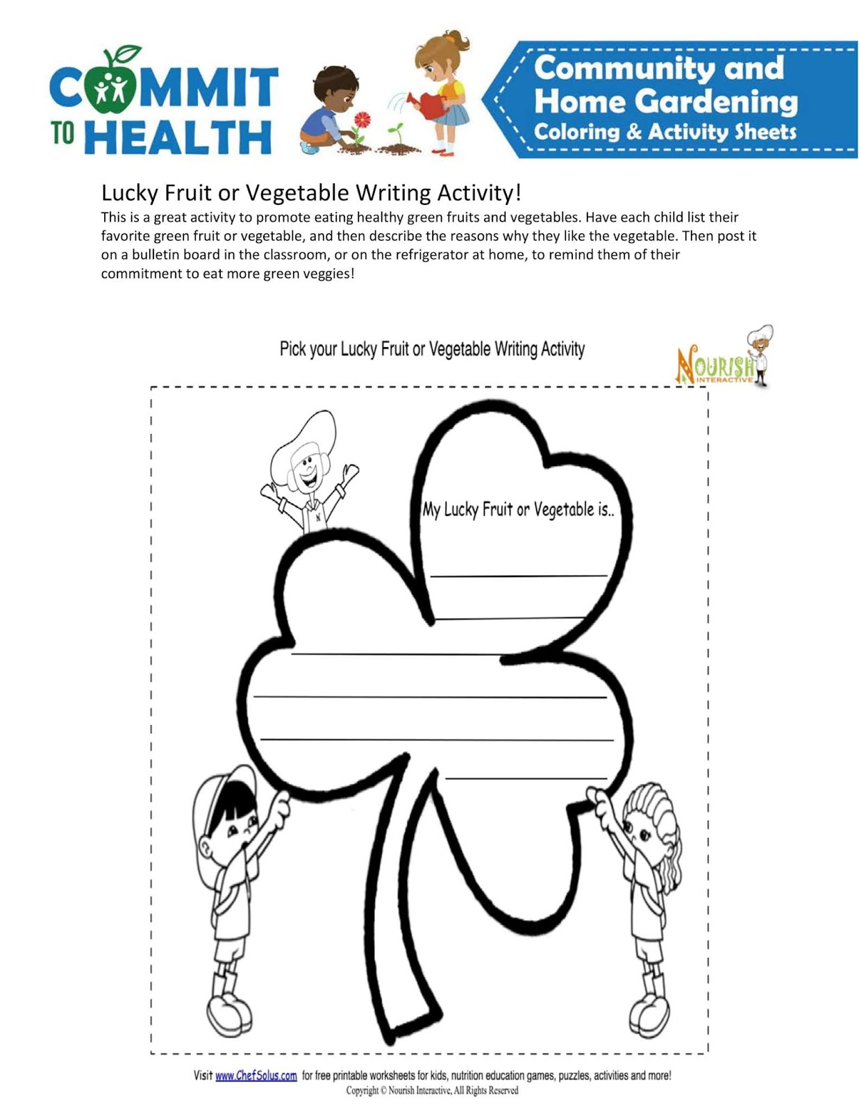 medium resolution of March coloring activity sheets gardening community home grades 3-5 -  Raste-enblog2