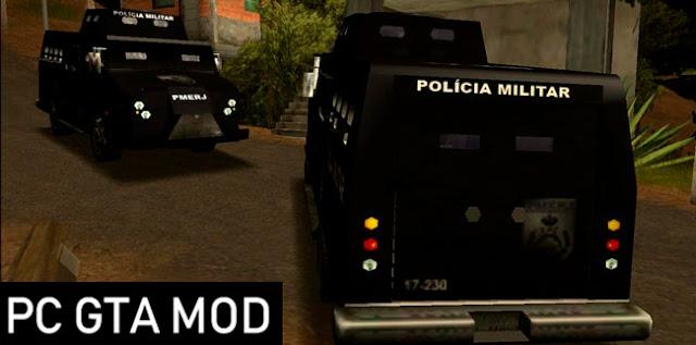 Download Caveirão 2002 PMERJ SA-Style Mod for GTA San Andreas