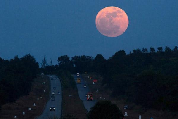 gerhana bulan super blue blood moon