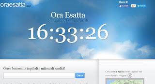 sito OraEsatta.co
