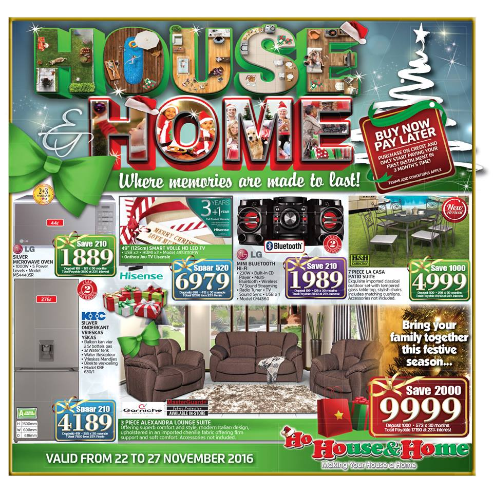 House and home furniture windhoek - Click Here List Of All Stores Black Friday 2016 Deals In South Africa
