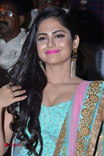 Actress Naina Ganguly Stills in Long Dress at Vangaveeti Audio Launch  0056.JPG