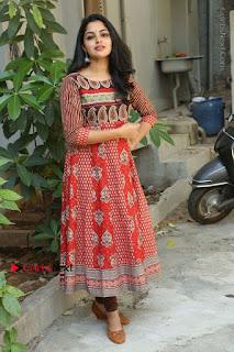 Telugu Actress Nikhila Vimal Latest Stills in Anarkali Dress  0215.JPG