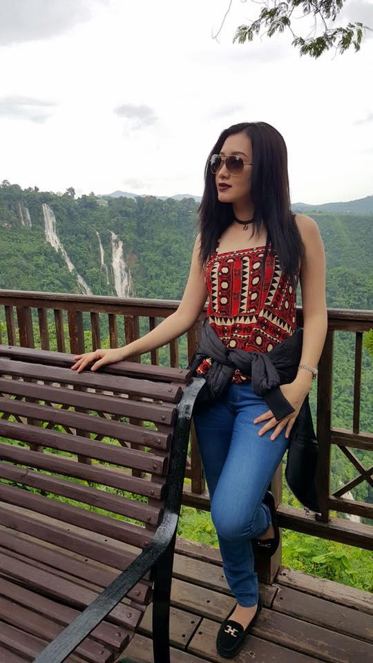 Yu Thandar Tin In Pyin Oo Lwin For New Movie Shooting