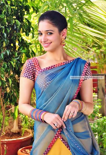 Tamanna In Tadakha Halfsaree: Hot Indian Actress Rare HQ Photos: Telugu Actress Tamanna