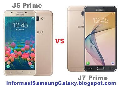 Perbandingan Samsung Galaxy J5 Prime vs J7 Prime