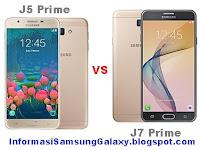 Samsung Galaxy J5 Prime vs J7 Prime Harga dan Spesifikasi