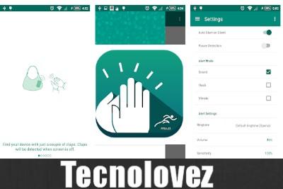 Clap to Find - Applicazione che trova il tuo cellulare sbattendo le mani
