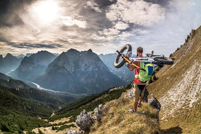 biketouren karwendel fleischbank flow valley mtb bbs