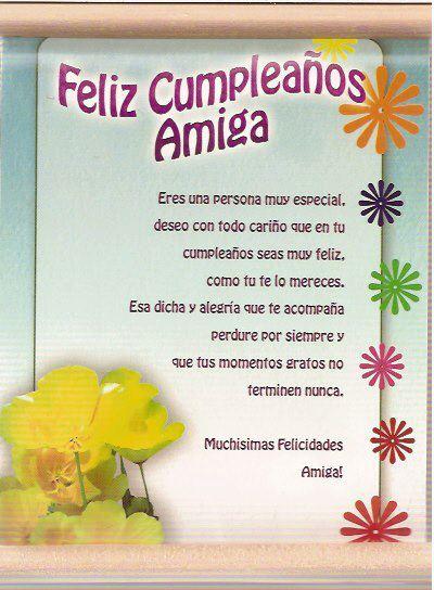 Tarjetas de Cumpleaños para Felicitar a una Amiga - ツ Tarjetas de
