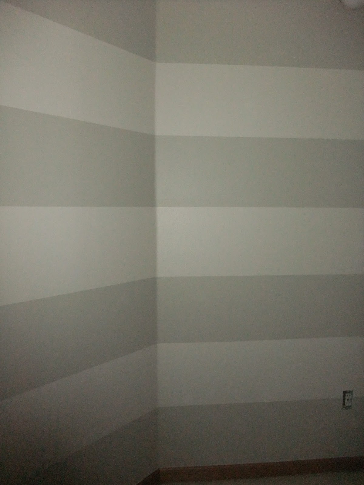 Just Another Hang Up: Painting Stripes on Textured Walls