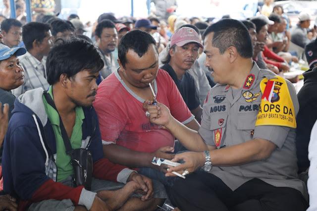 Ramah Tamah Kapolda Sumut Dengan Masyarakat Pancur Batu Kab. Deli Sersang Sumatera Utara