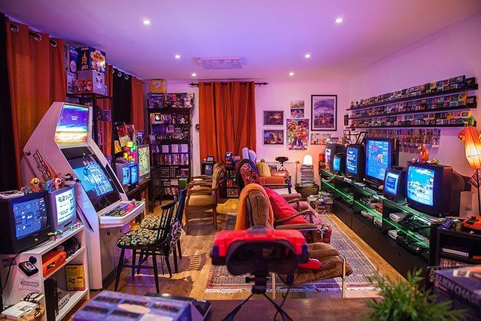 konsept nostalji oyun odası tasarımı