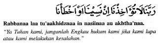 Doa setelah sholat fardhu dan artinya 7
