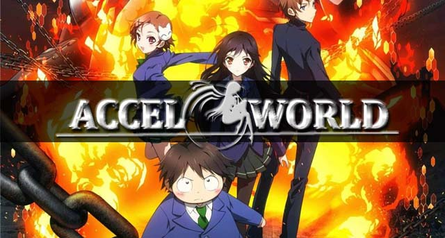 accel world trailer cover poster cuplikan