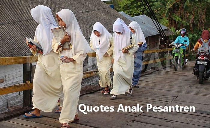 quotes anak pesantren