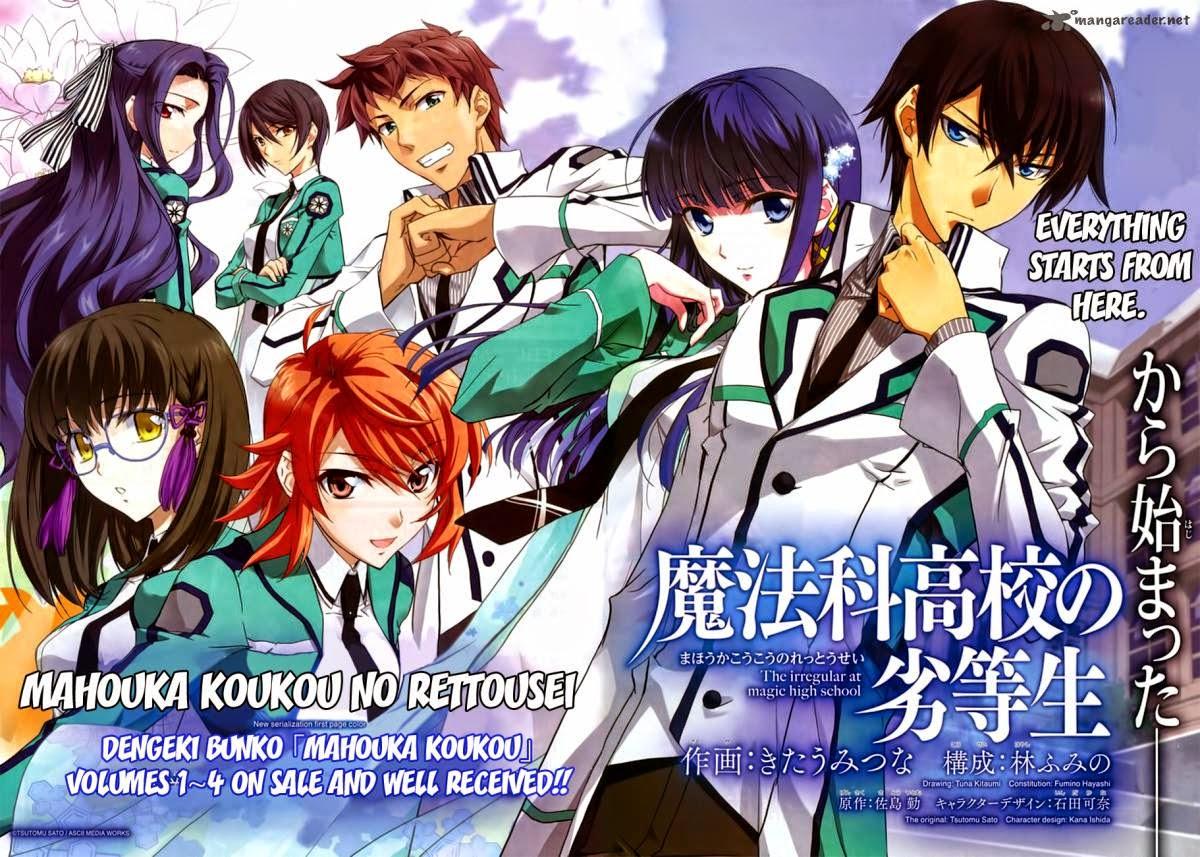 Todos os Episódios de Mahouka Koukou No Rettousei Online