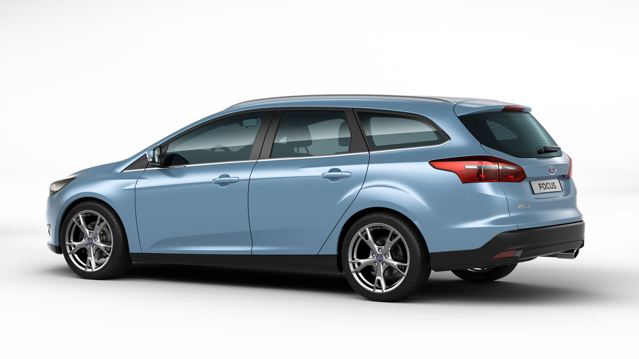 Ford Focus Wagon rear