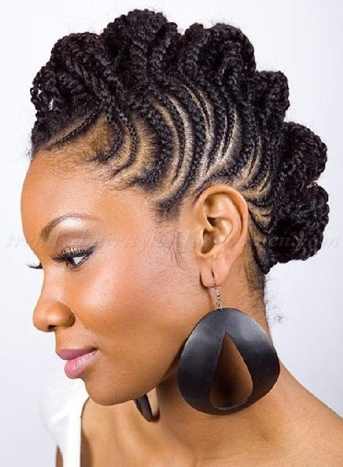 Natural Braid Hair Styles For Busy Ladies and Moms | Cornrow Hairstyles
