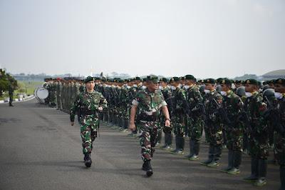 Atasi Karhutla, TNI Kirim 1 SSK Yonarmed 10/Brajamusti Ke Riau