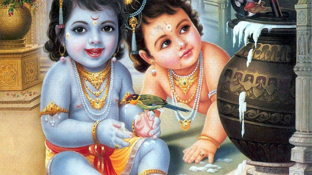 Best Bal Krishna & Balram  Wallpaper For MacBook