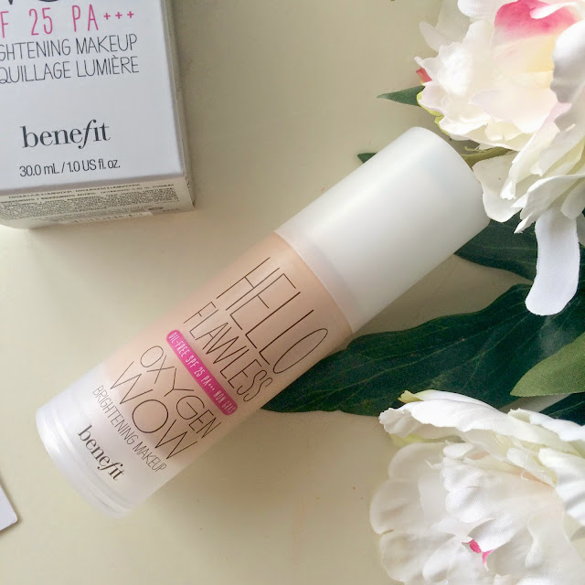 Benefit Hello Flawless Oxygen Wow Foundation Review For Oily Skin