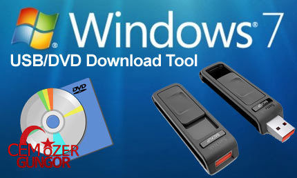Windows7 USB/DVD Download Tool(USB Format Programı)